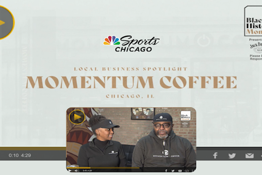 Black History Month NBC Spotlight - Momentum Coffee