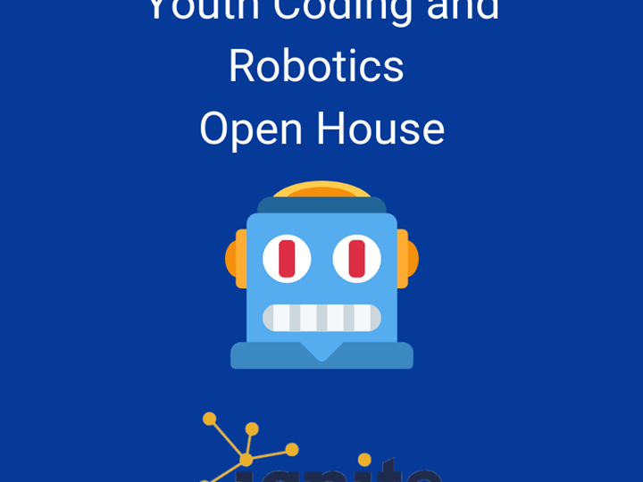 Youth Coding and Robotics Open House