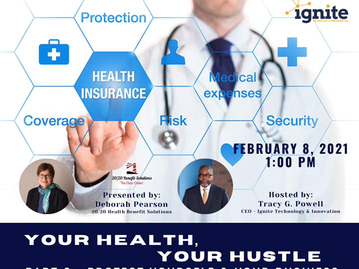Your Health, Your Hustle Health Insurance Series